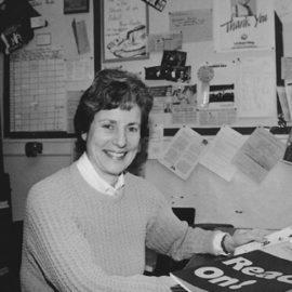 Paula Adelman, the first president